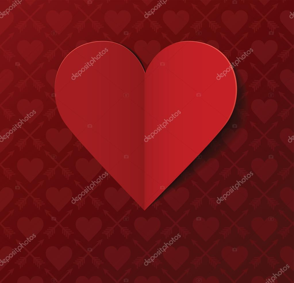 Valentine's day postcard — Stock Vector #18516443