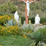 Life size Crucifixion Statues — Stock Photo