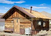 Vintage mining town shack 2 — Stock Photo