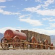 20 mule team borax wagons 2 — Stock Photo
