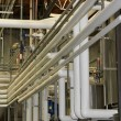 Stock Photo: Industrial water piping