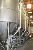 Giant industrial beer vat — Stock Photo