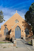 Church from the Street — Stock Photo