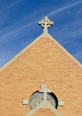 Adobe Brick Church — Stock Photo