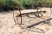 Antique Tiller — Photo