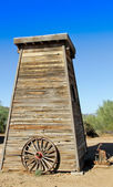 Old West Water Storage Building — Stock Photo