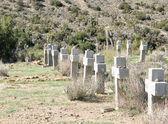 Desert Cemetery — Stock Photo
