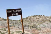 San Andreas Fault — Stock Photo