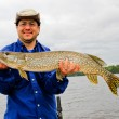 Canadian Northern Pike Trophy fish — Stock Photo #49289265