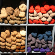Seventeen colored yarn skeins in a bin — Stock Photo #51698147