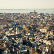 Stock Photo: Venice aerial view