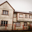 Rural House at Chiloe — Stock Photo