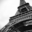 Eiffel tower black and white beauty — Stock Photo #13442059