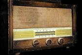 Staré vintage rádio — Stock fotografie