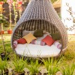 Cool furniture for the garden — Stock Photo