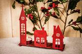 Decoración de navidad rojo — Foto de Stock