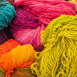 Rainbow Wools — Stock Photo