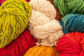 Colored Wools — Stock Photo