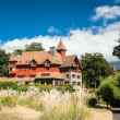 Beautiful hotel in southern Chile — Stock Photo #30398175