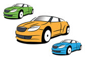 The vector picture of sport car — Stock Vector