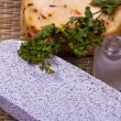 Stock Photo: Pumice and handmade soap