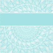аннотация голубой узор — Cтоковый вектор