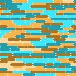 abstrakt mönster med ovaler — Stockvektor  #23403252