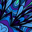 Royalty-Free Stock Vector Image: Blue-purple abstract pattern