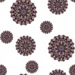 Royalty-Free Stock Vector Image: Seamless with purple circles