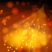 Lighted stage with sparkles — Vector de stock