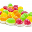 Delicious colorful jelly — Stock Photo