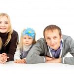 幸福的家庭与儿童 — 图库照片
