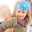 Sisters young children — Stock Photo #16068909