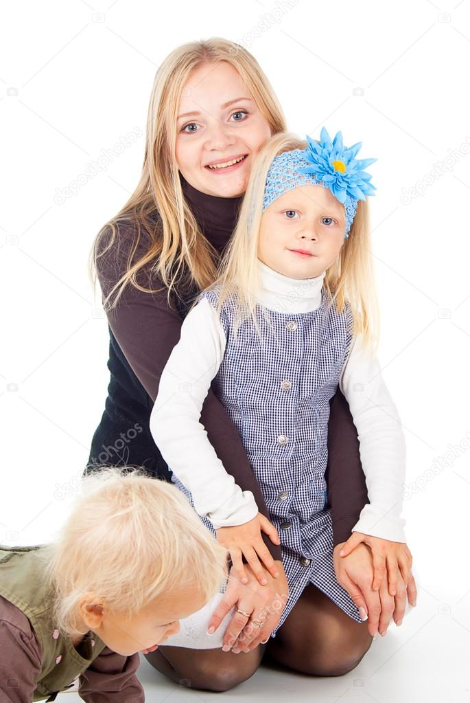 Happy mother with child — Stock Photo #16067295