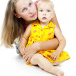 Happy mother with a child — Stock Photo #19090911