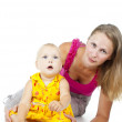 Mother and child girl — Stock Photo