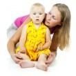 Mother with small child — Stock Photo