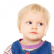 Portrait of a little blue-eyed blonde girl — Stock Photo #42210063