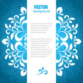 Vector abstract background with space for text — Vecteur