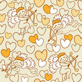 Pattern for Valentine's Day — 图库矢量图片