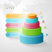 Business Infographics — Stock vektor