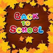 Blackboard tillbaka till skolan — Stockvektor