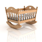 Cradle 3d illustration — Stock Photo