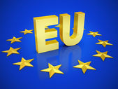 European union 3d illustration — Stock Photo