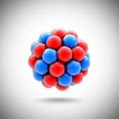 Atomic nucleus — Stock Photo