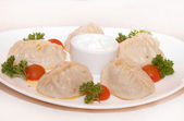 Pelmeni — Stock Photo