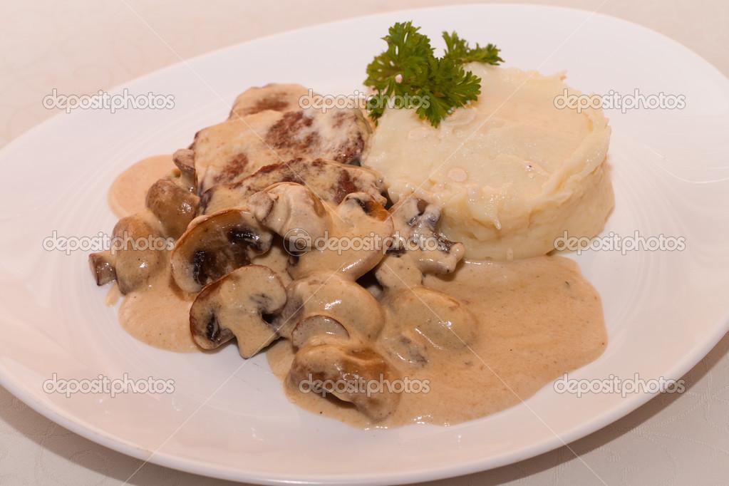 Mash Potato Photos Mashed Potatoes With Mushroom