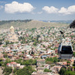 Tbilisi cable car — Stock Photo