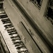 Old vintage piano — Stock Photo #40584575