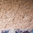 Clay wall background — Stock Photo
